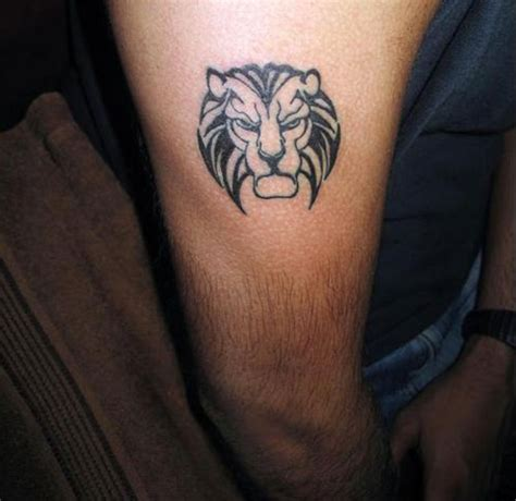 tattoo simple lion 36 fearless lion tattoos creativefan