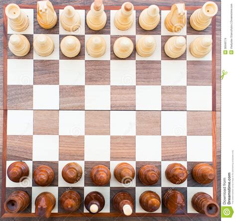 Chess Top chess board top view stock images image 36948174