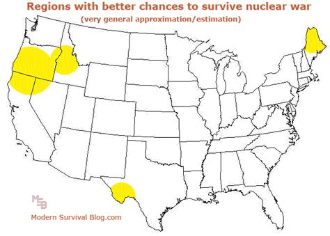 nuclear map usa us nuclear target map the daily coin