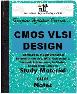 vlsi layout design jobs cmos vlsi design pdf study materials cum notes