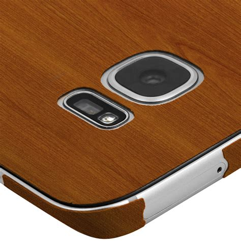 Wooden Skin Protector For Samsung Galaxy S7 Edge Skinomi Techskin Samsung Galaxy S7 Edge Light Wood Skin