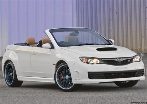 subaru sti convertible subaru wrx sti convertible by ecstatic enzo on deviantart