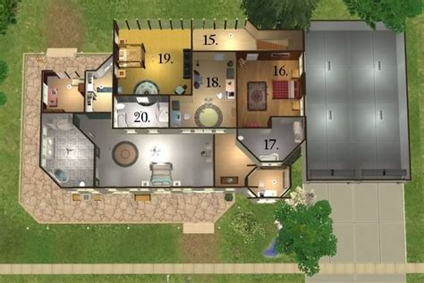 twilight cullen house floor plan mod the sims the cullen house from the twilight books