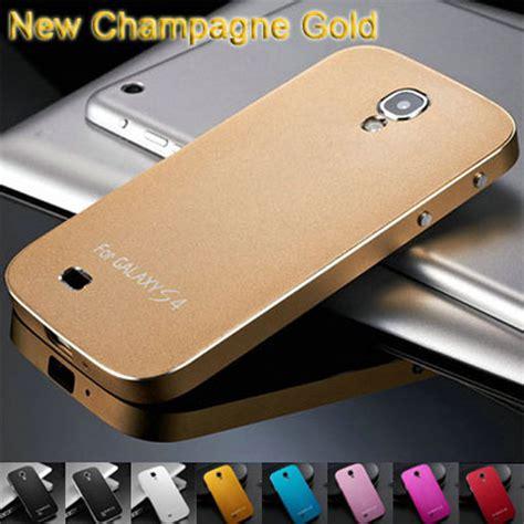 3m Samsung Galaxy S4 Mini Brushed Metal Gold Skin aluminum for samsung galaxy s4 i9500 luxury matting aluminum hybrid phone cover for samsung