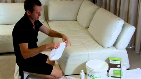 how to clean white leather couches how to clean white leather youtube