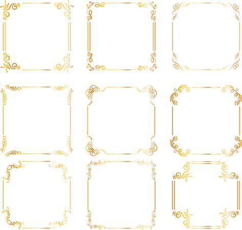wedding border design gold items similar to gold square frames borders gold wedding