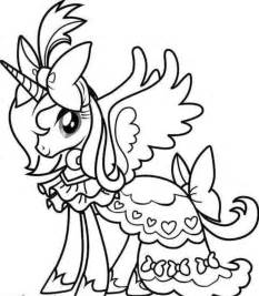 barbie unicorn colouring pages