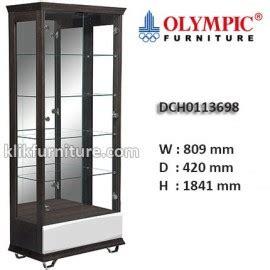 Lemari Kaca Pajangan Olympic dch0113698 lemari hias kaca olympic new