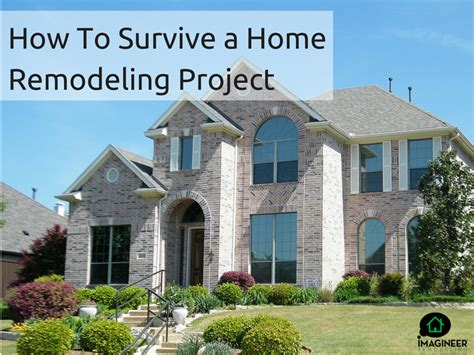 how to survive a home remodeling project