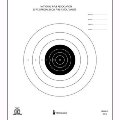 printable nra targets law enforcement targets action target official nra 50
