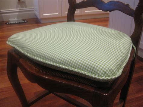 kitchen chair cusions hand sewn home grown kitchen chair cushions