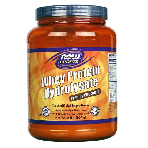 Whey Hydrolysate now foods whey protein hydrolysate chocolate 2