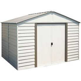 Outdoor Storage Sheds Lowes by Arrow Milford Storage Shed From Lowes Sheds Structures Outdoor