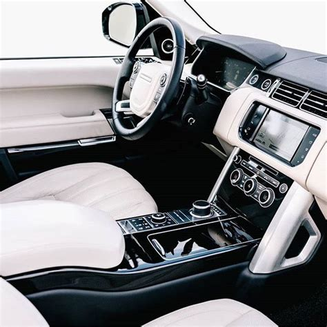 land rover white interior best 20 white range rovers ideas on range