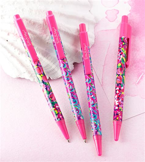 lilly pulitzer desk accessories district17 lilly pulitzer pen set desk accessories