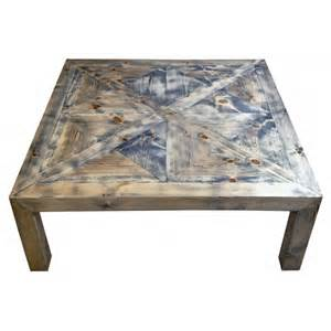 Large Square Wooden Coffee Table Large Square Coffee Table With Wooden Parquet Vintage Style