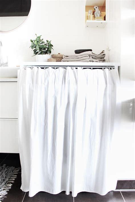 gardinenhaken in waschmaschine oh what a room mein bad voller diys 4 mein traum