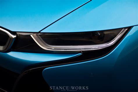 bmw i8 headlights protonic blue bmw i8 poses for breathtaking shots