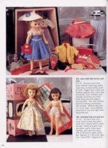 porcelain doll dm 33 plastic doll book madame vouge ideal