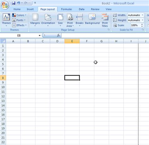 tutorial microsoft office excel 2007 microsoft excel 2007