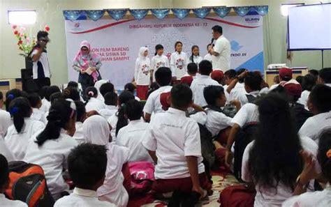 film edukasi anak sd murid sd diberikan edukasi melalui film