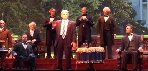 donald trump hall of presidents l attraction the hall of presidents r 233 ouvre avec donald