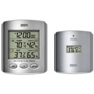 outdoor thermometer home depot wireless io thermometer 91756 the home depot