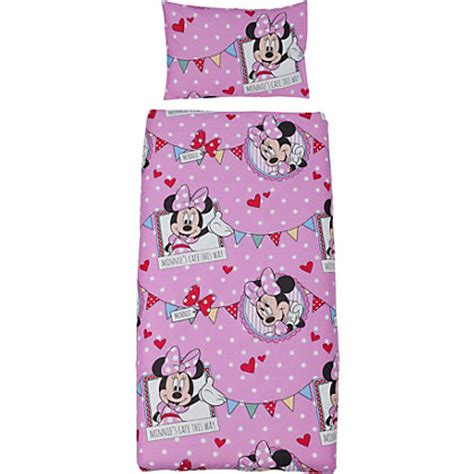 minnie mouse bed in a bag minnie mouse caf 233 bed in a bag set toddler