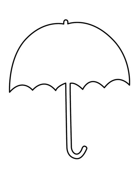 coloring page of umbrella umbrella clipart coloring pages umbrella day coloring