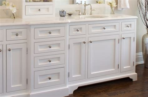 Beaded Inset Cabinets by Beaded Inset Vanity Traditional Bathroom New York
