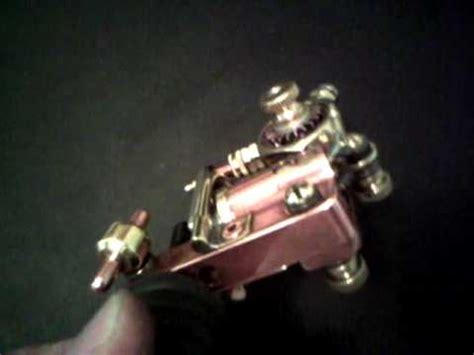 Rotary Tattoo Machine Youtube | rotary tattoo machine by special technique copper pot no