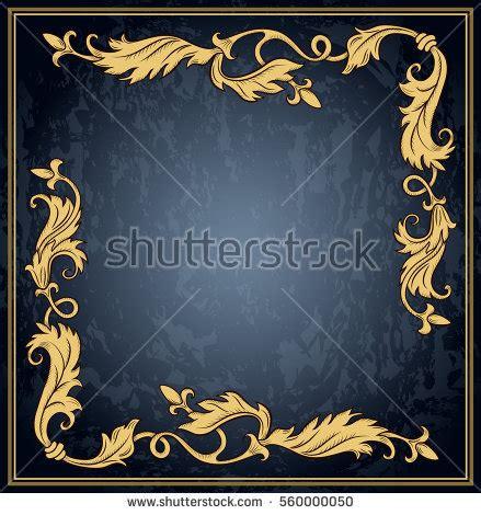 royal pattern frame corner borders stock images royalty free images vectors