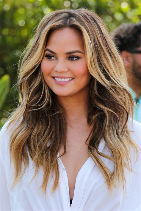 chrissy teigen hair color 6 new hair colors to try this summer gorgeous