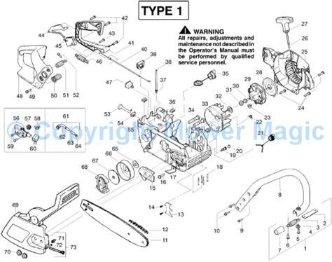 mcculloch parts diagram mcculloch mac cat 335 9528018 22 spares