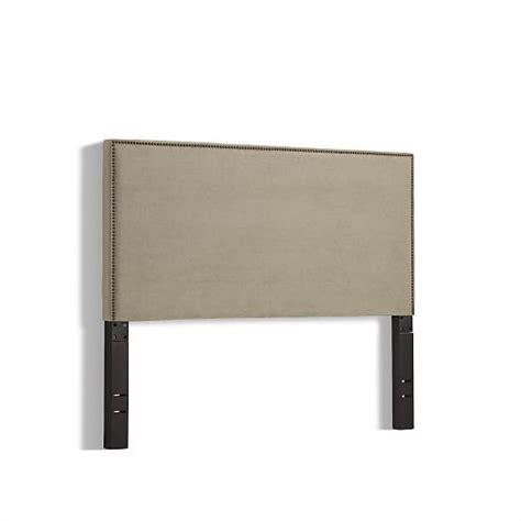 nailhead upholstered headboard nailhead upholstered headboard west elm