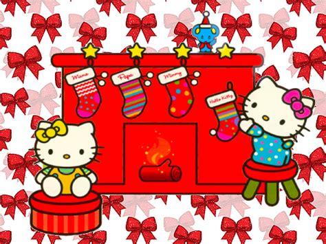 Cp Sanriowhite merry hello wallpaper gallery