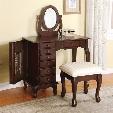 Vanity Table With Jewelry Storage by Boise 3 Pcs Vanity Makeup Table Set