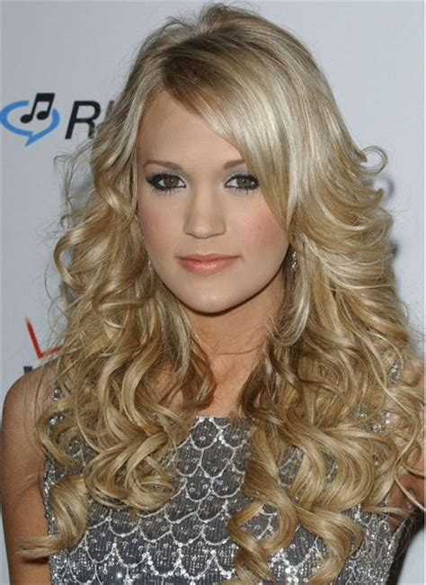 latest hairstyles for long curly hair new hair on pinterest long wavy hairstyles long