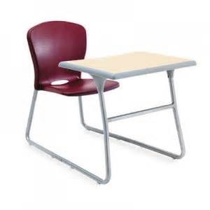 Student Desk Chair Combo Desk Chair Combo 26w X 40 3 4d X 26h Maple Top Garnet