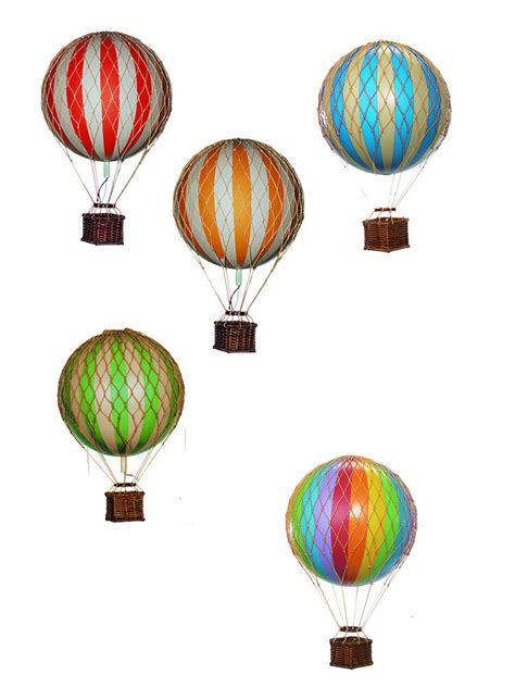 Air Balloon Hanging Decoration by Colorful Authentic Models Floating The Skies Air