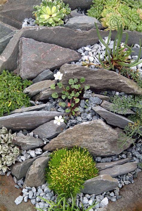 rock garden bed ideas 17 best ideas about landscaping rocks on lawn