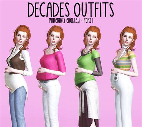 sims 3 teen pregnancy clothes maternity clothes sims 3