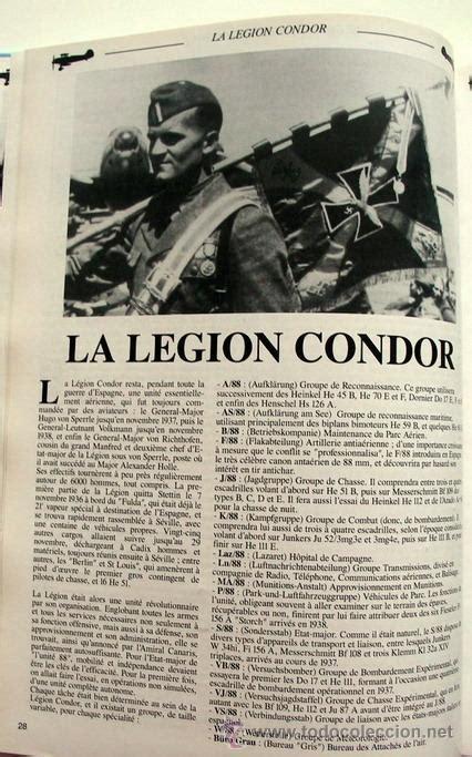 libro legion condor history of la legi 243 n c 243 ndor comprar libros antiguos y literatura militar en todocoleccion 40870490