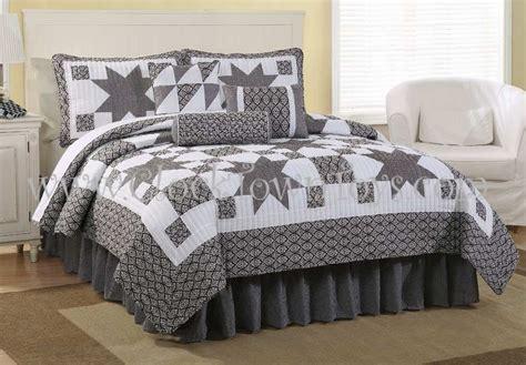 star comforter sets 7pc black white western star king comforter set cqs7758bw7k