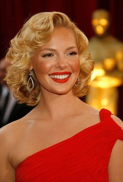 Katherine Heigl Looking Glam At The Academy Awards by Best 25 Marilyn Hairstyles Ideas On