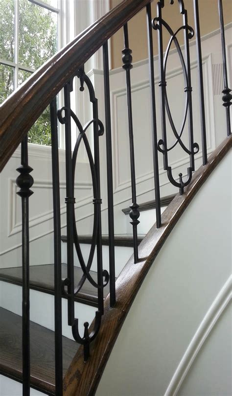 Metal Stair Spindles Metal Baluster Custom Stairs Artistic Stairs