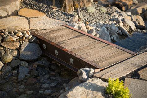 how to build a wooden bridge build a bridge from reclaimed materials how tos diy