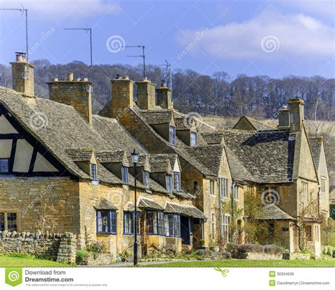 Cottages In Broadway by Cottages Broadway Royalty Free Stock Images Image 30304639