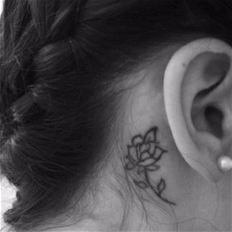 rose tattoo behind ear meaning 48 best images about tattoos on family tattoos