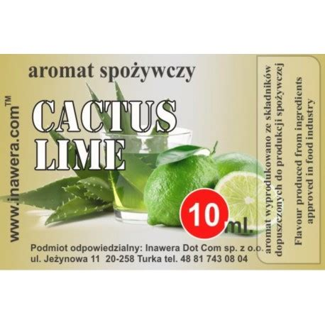 Dijamin Inw 10ml Cactus By Inawera cactus lime flavour inawera deutschland